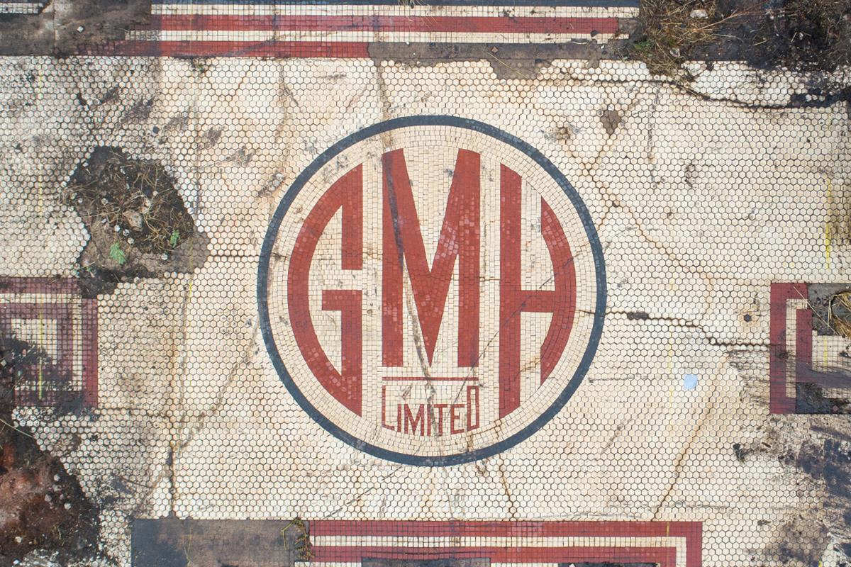Detail of GMH mosaic. Image Renewal SA